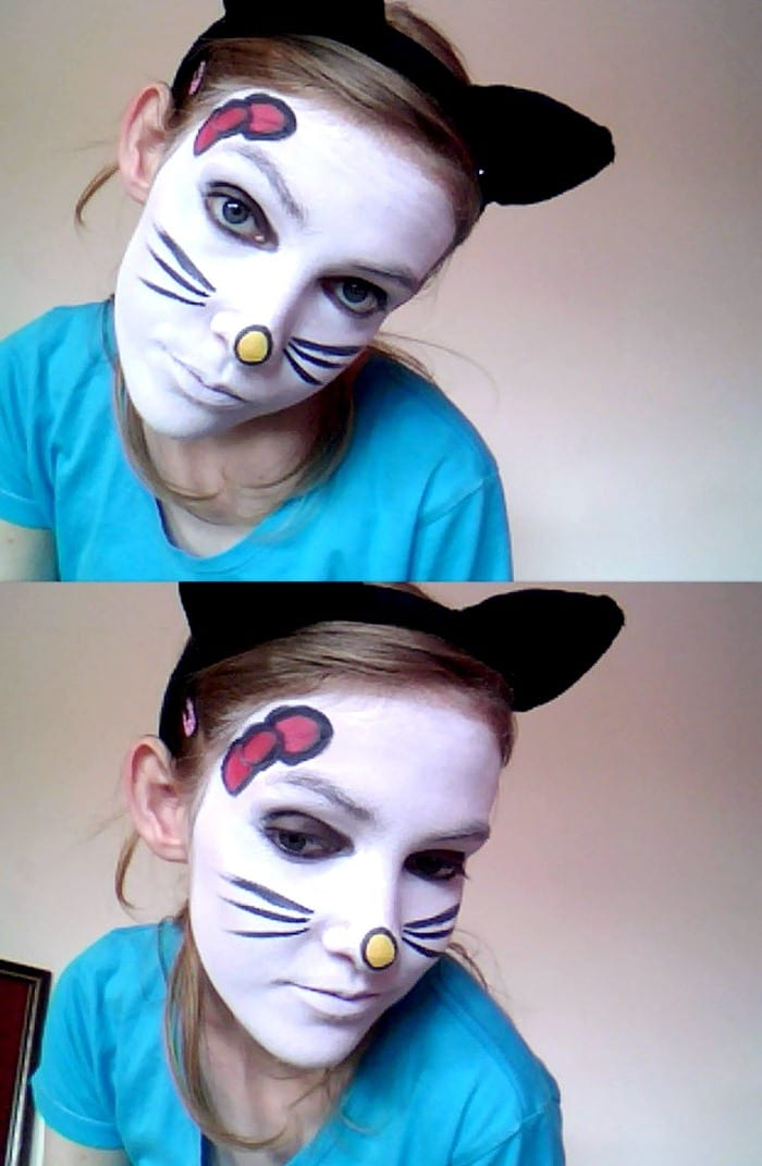 Образ кошки для карнавала
