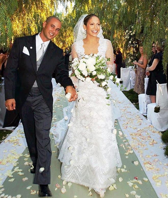 Свадебное платье Джей Ло