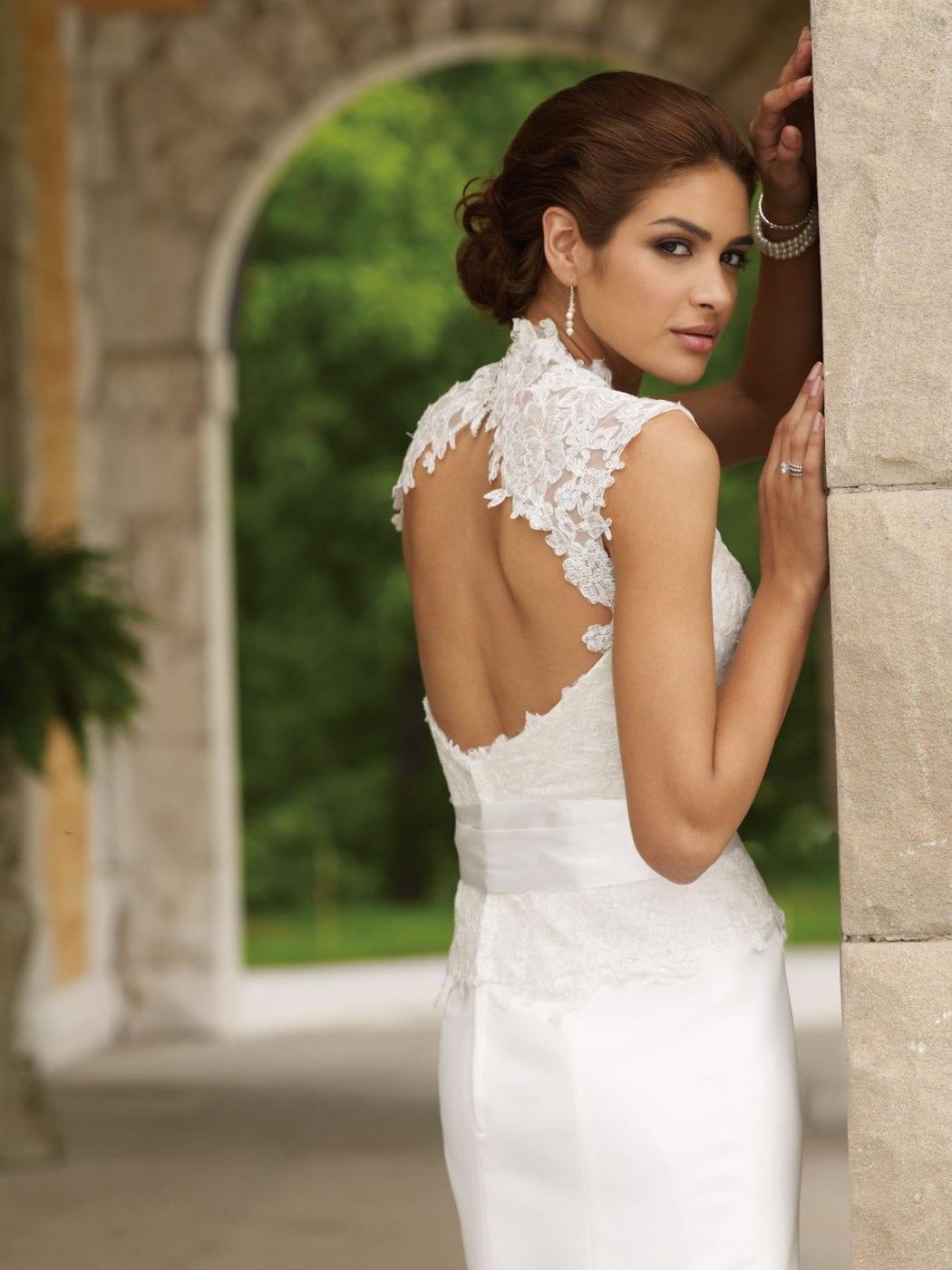 свадебные платья с открытой спиной фото рабочий стол аниме