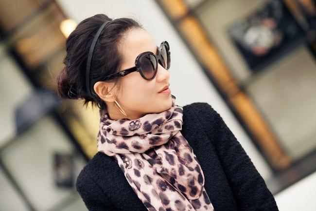 способы завязать шарф на шее