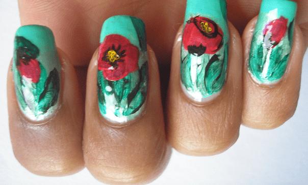 Длинный ногти