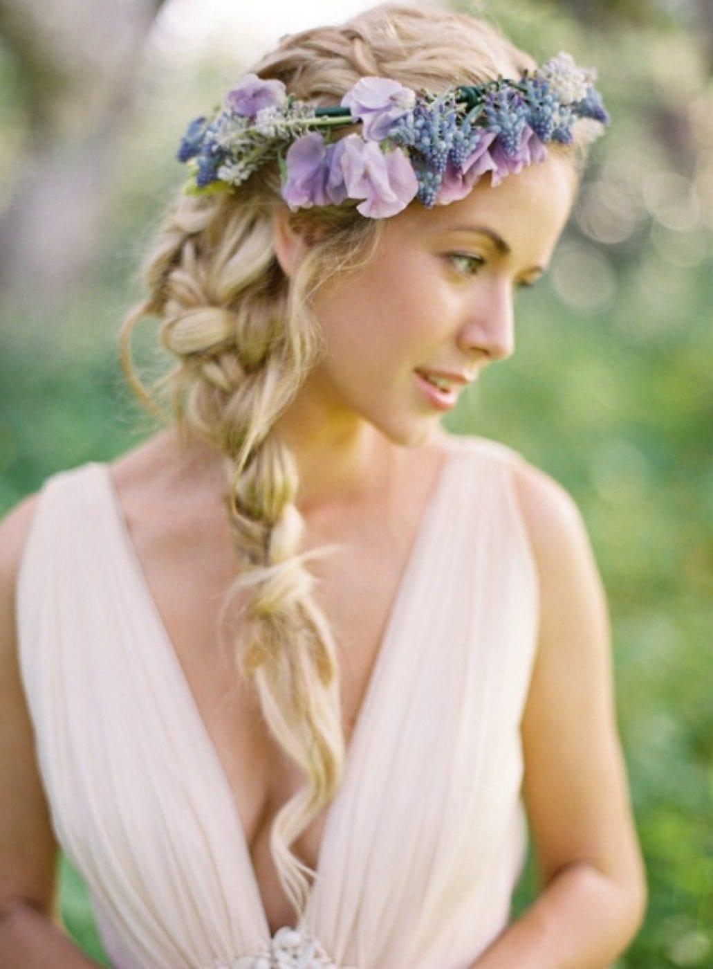 даже цветы в косе фото руление перья