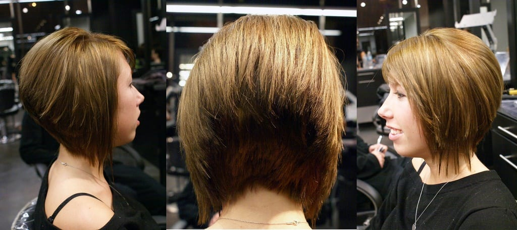 inverted bob haircuts back view женский журнал ladyzest 5752