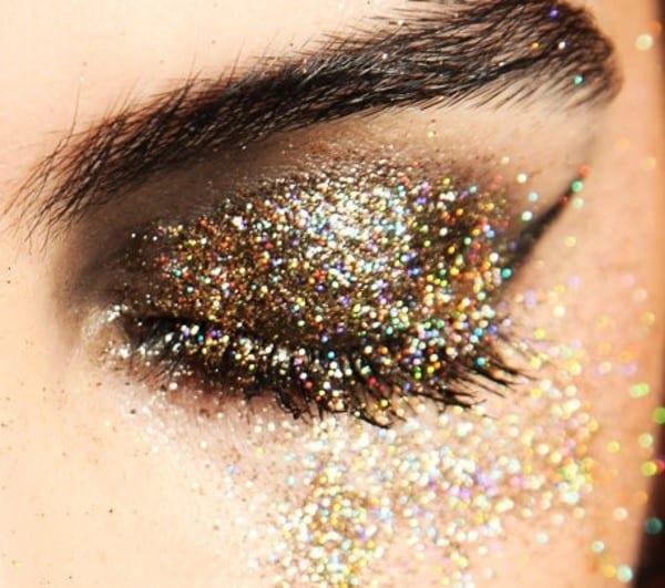 Золото на глазах