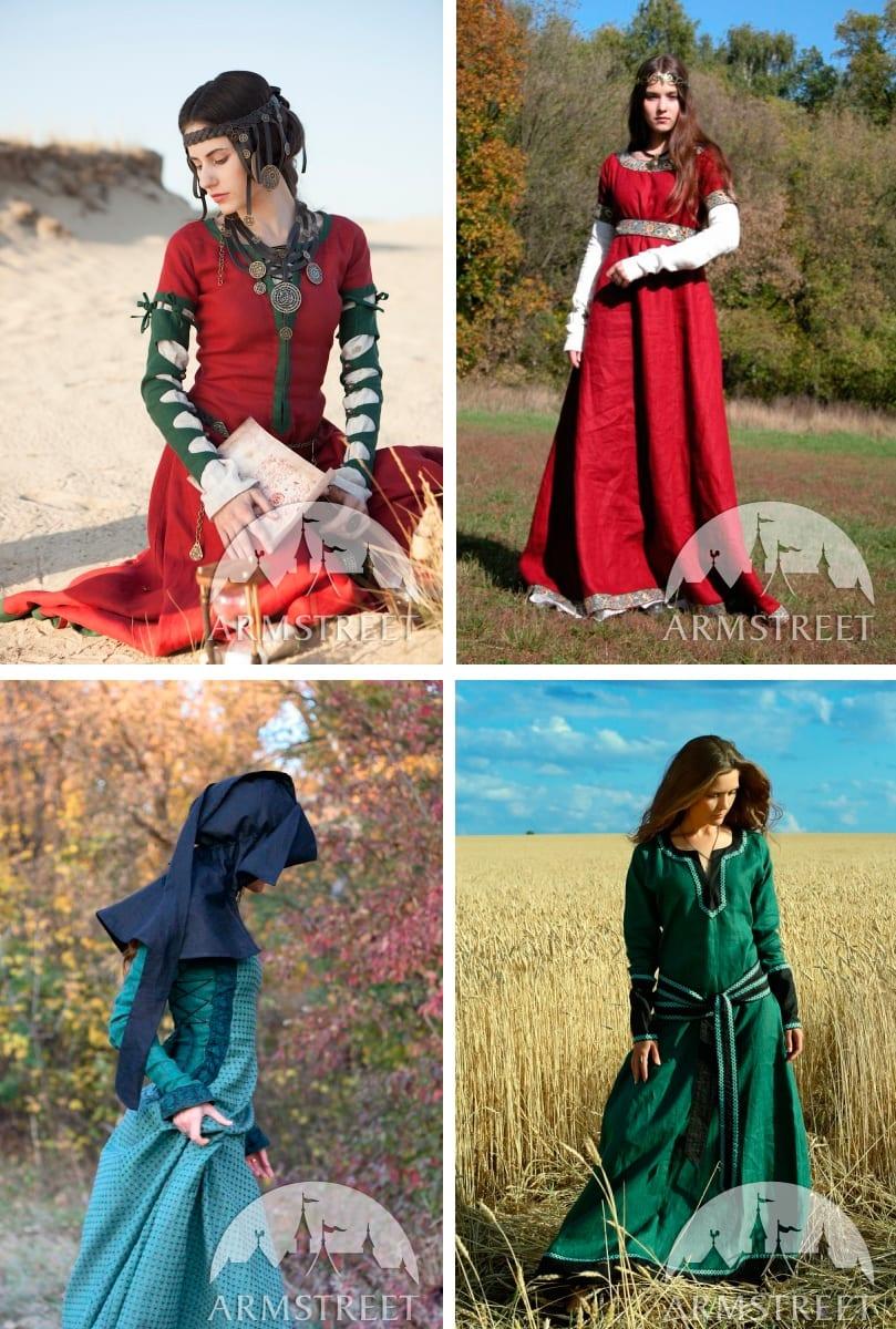 Важные элементы платьев