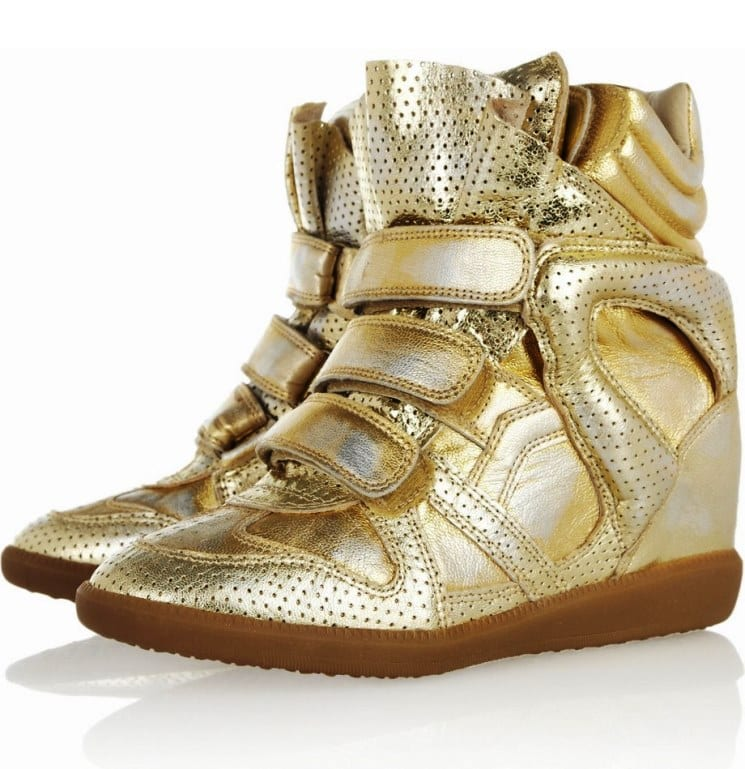 Яркая обувь