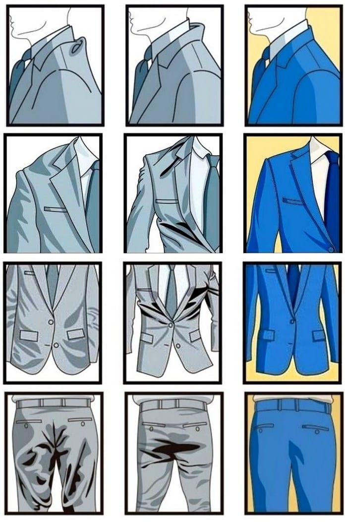 Размеры костюмов
