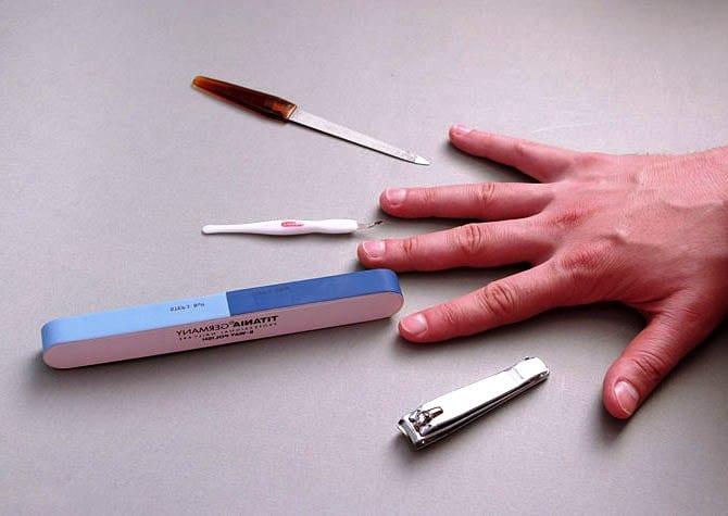 Инструменты для домашнего маникюра