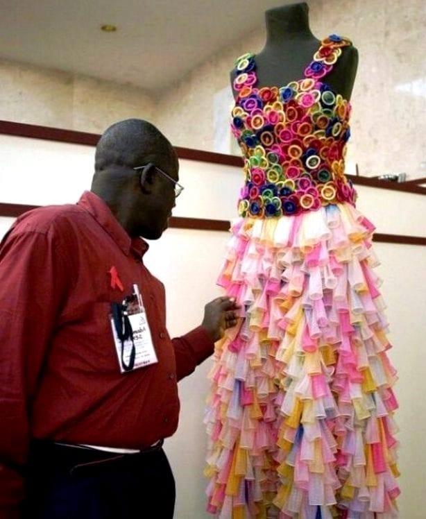 Платье, которое в прямом смысле можно использовать