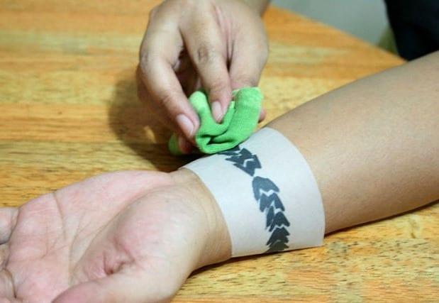 Как сделать смываемую татуировку