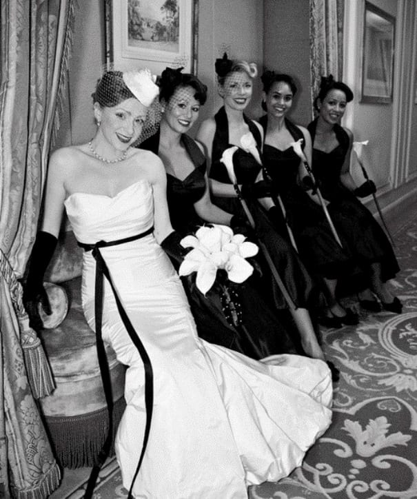 Ретро-платье невесты