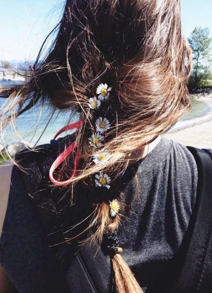 Украшение для волос в виде цветов