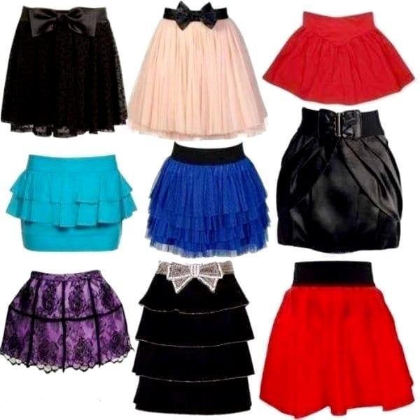 Покупка юбки