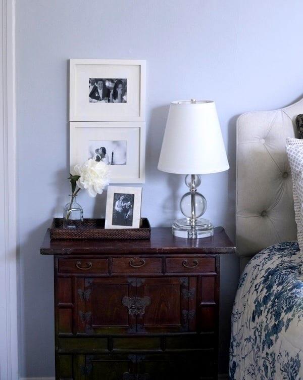 Милое оформление спальни