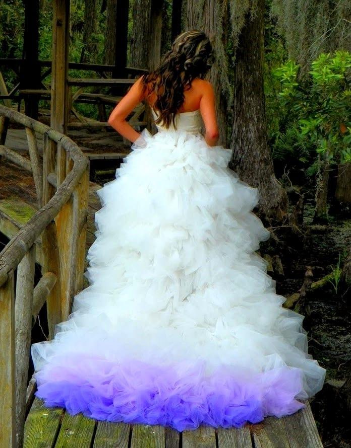 Пышный наряд для невесты