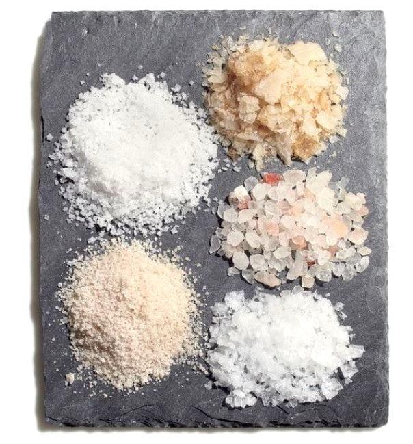 Соляной скраб для кожи головы