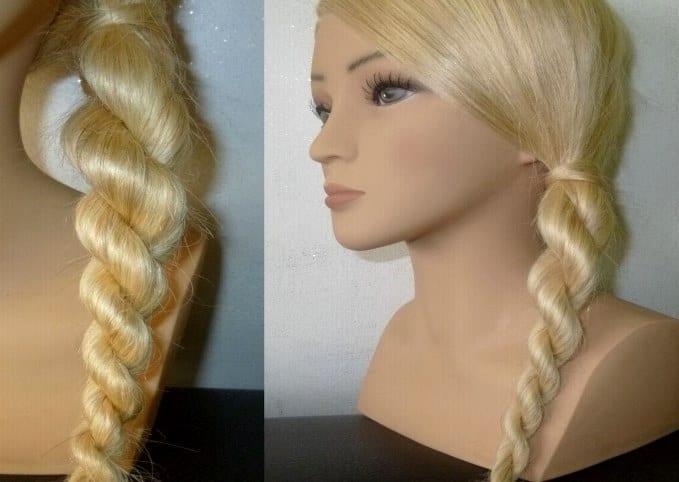 Жгуты из длинных волос