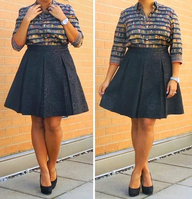 Черня юбка
