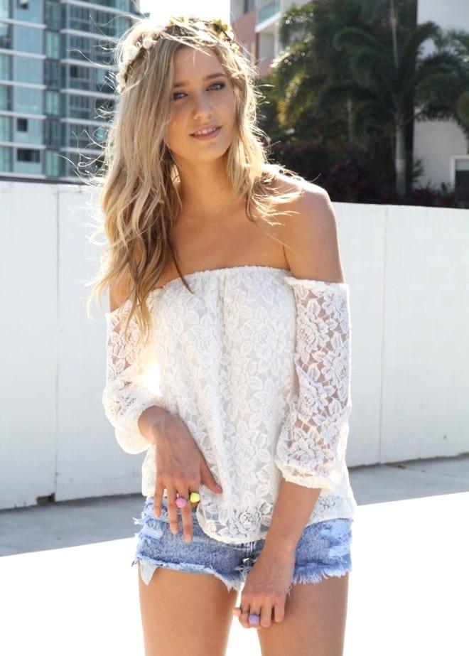 Одежда для девушек на лето