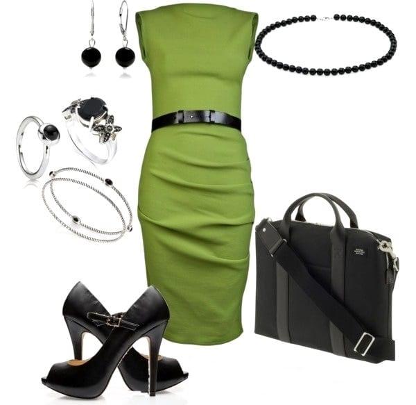 Платье на работу