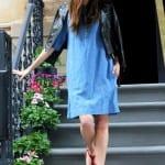 Платье-шемизье из денима