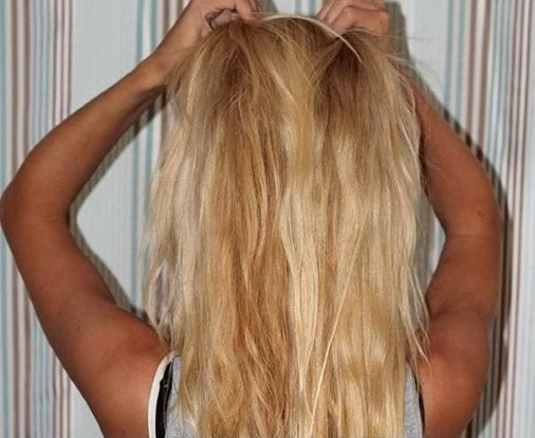 Осветленные волосы