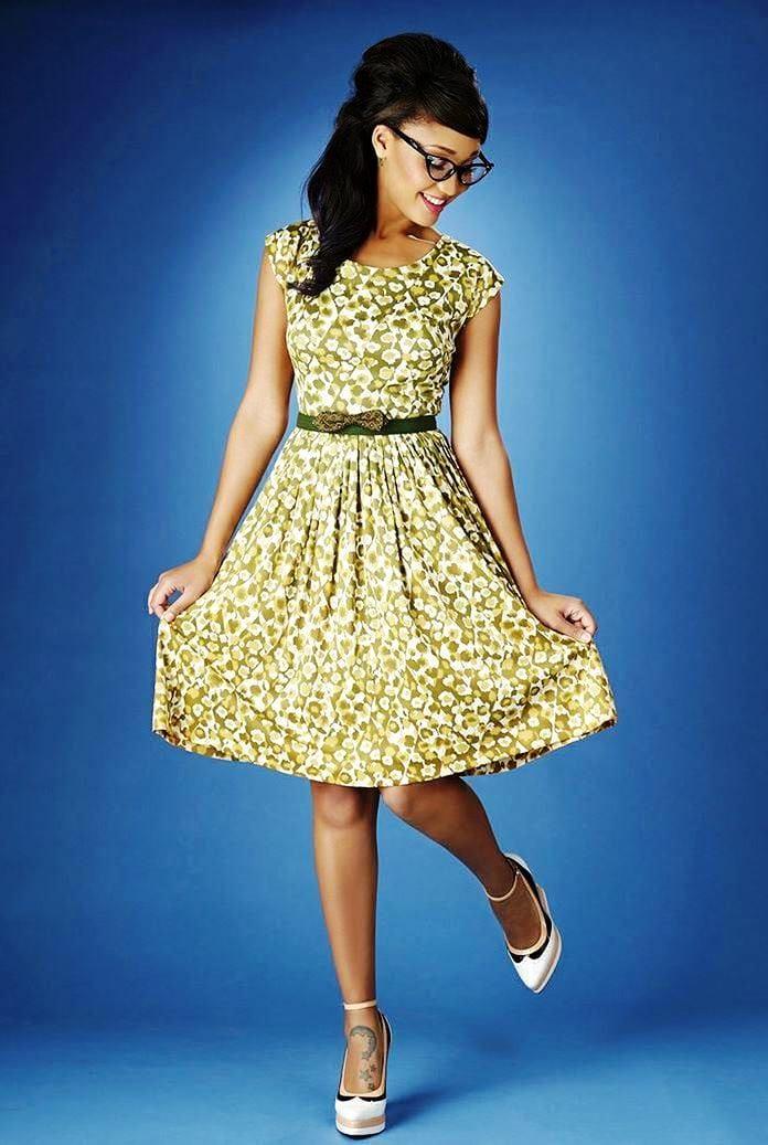 Винтажное платье