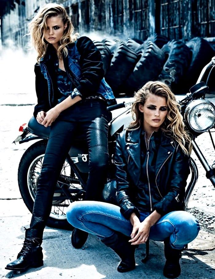 Девушки рокеров