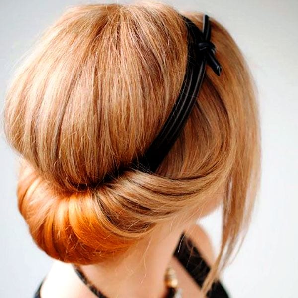 Прически с ободком (45 фото): примеры причесок на средние, длинные и короткие волосы. Как сделать вечернюю укладку c ободком из камней?