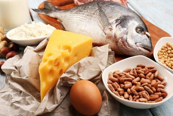 Набор питательных продуктов