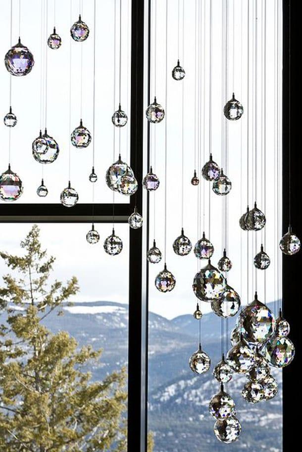Окно, кристаллы