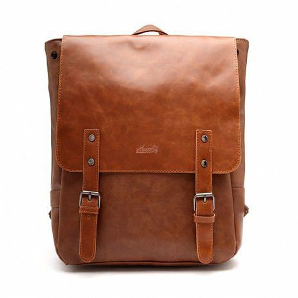 Кожаная сумка-рюкзак