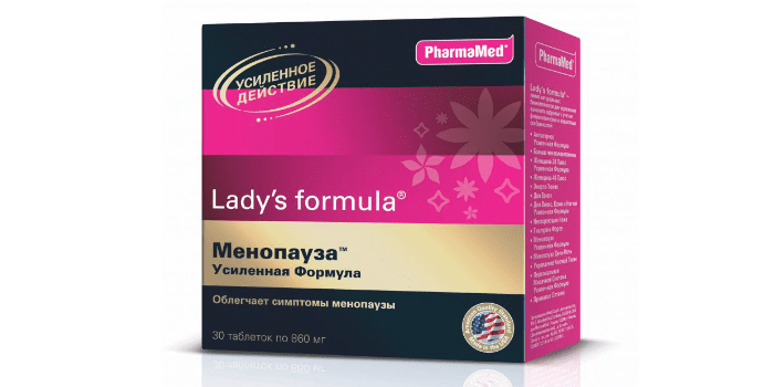 биокомплекс Lady's Formula Менопауза Усиленная Формула