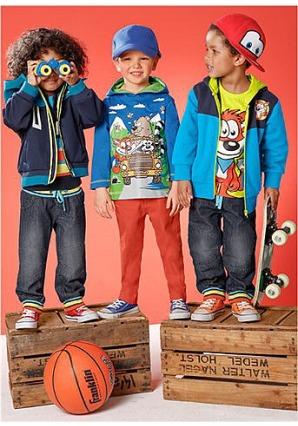 Дети в стильной одежде